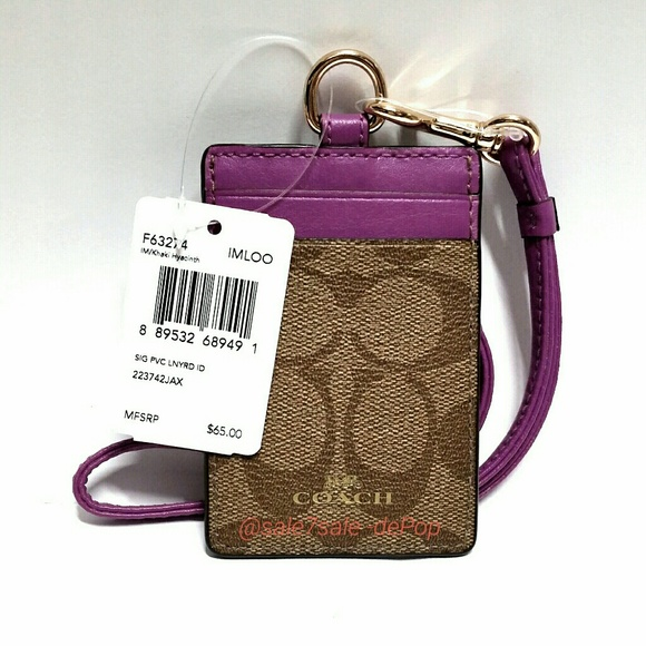 9776fb9b7822 🔴FINAL PRICE🔴 Lanyard Card Case Credit Holder